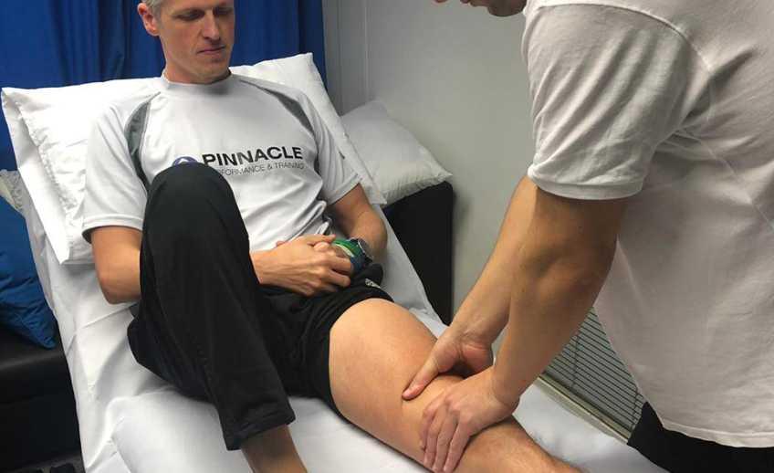 Fizjoterapia i współpraca z Andrew McGhee, zawodnikiem Teamu GB