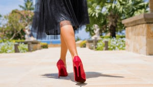 high heels and back pain