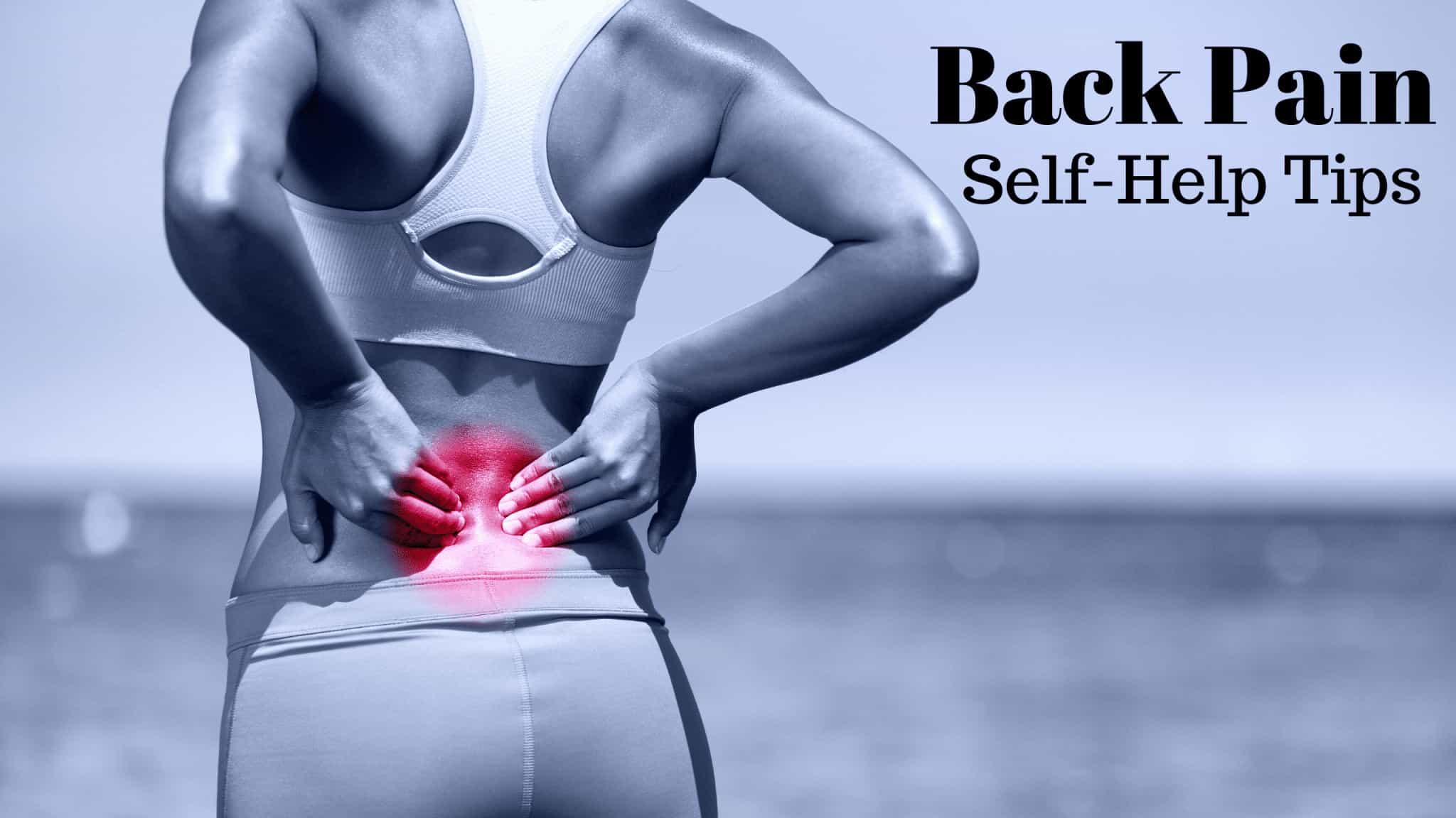 back pain self help