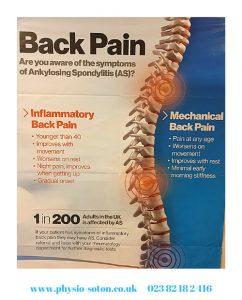 back pain and ankylosing spondylitis